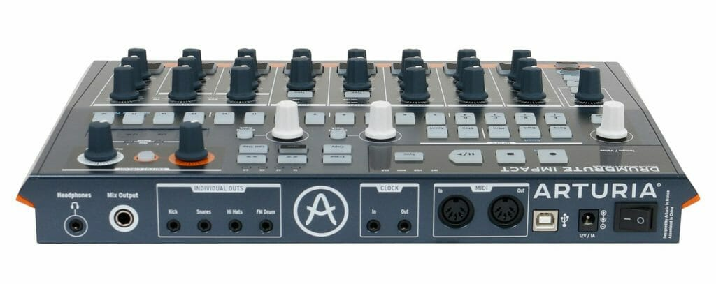 Arturia DrumBrute Impact review analoge drumsynthesizer