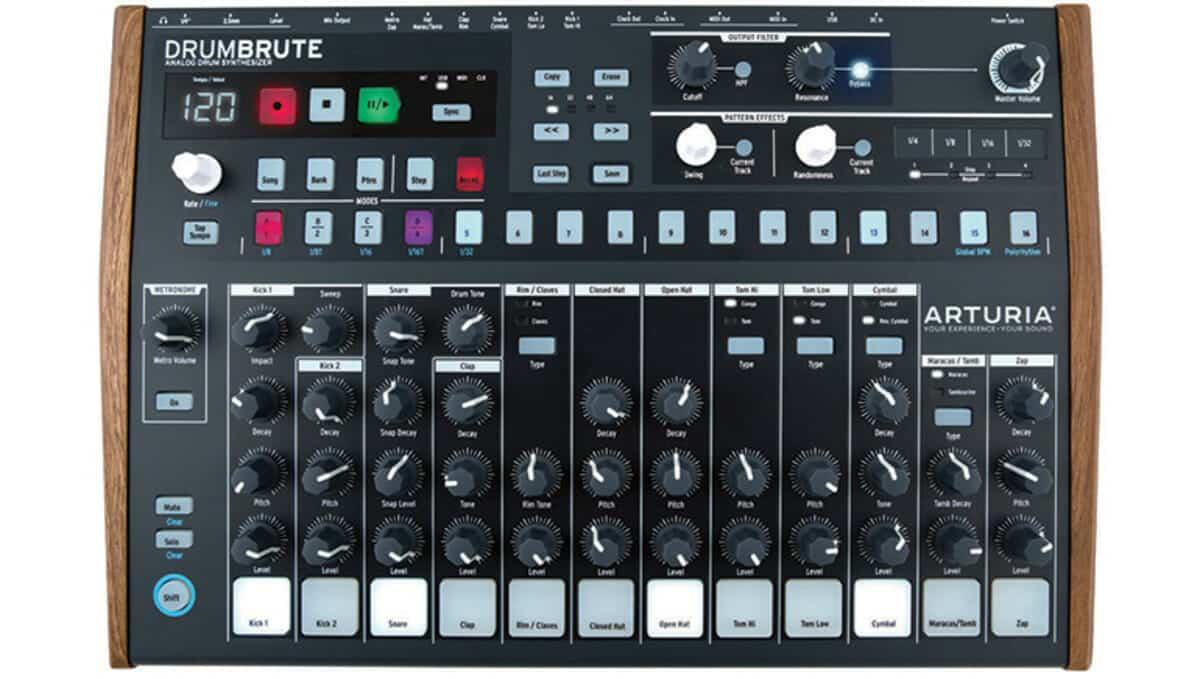 Beste Drum Synthesizer Arturia DrumBrute