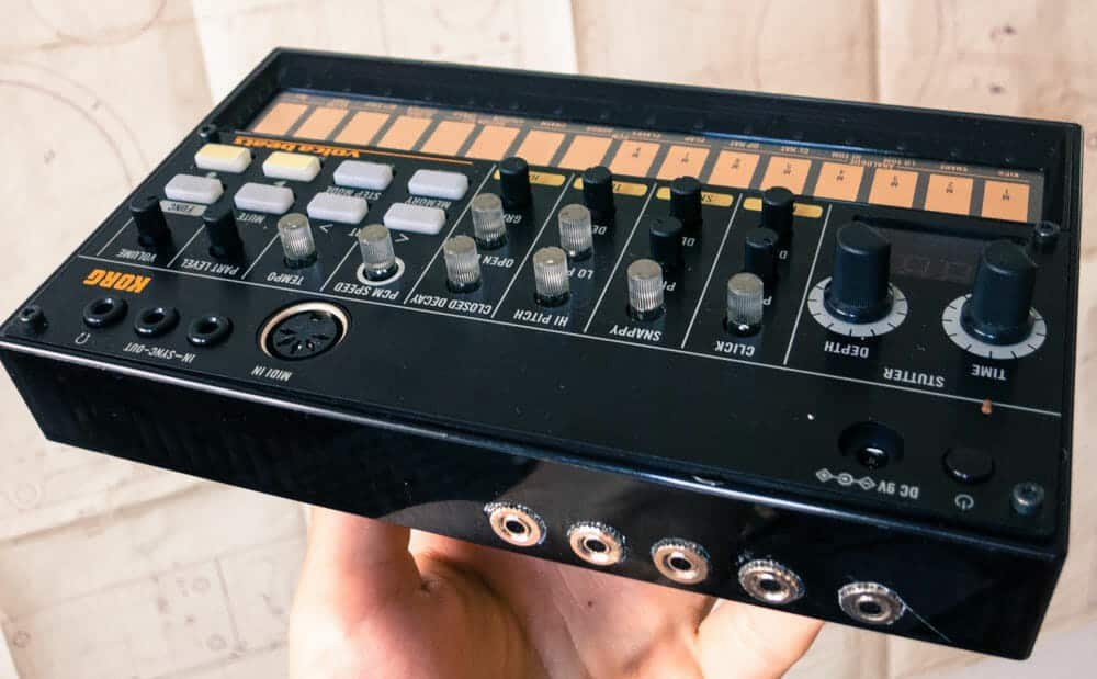 Beste Drum Synthesizer Korg Volca Beats