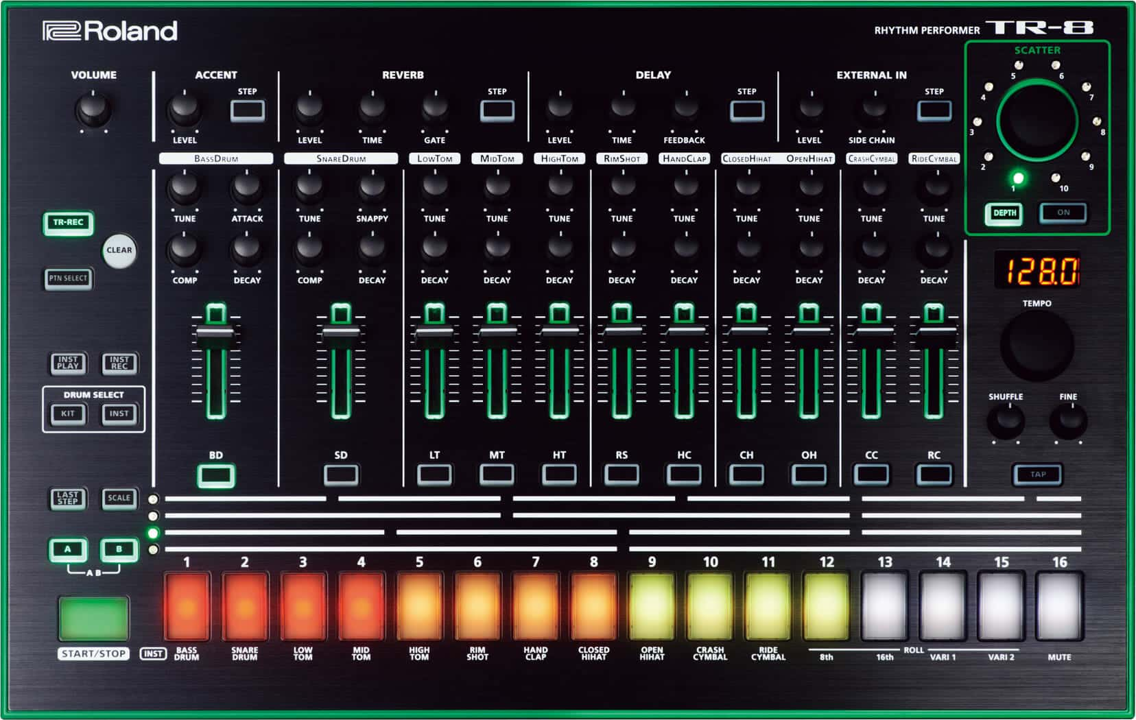 Beste Drum Synthesizer Roland TR-8