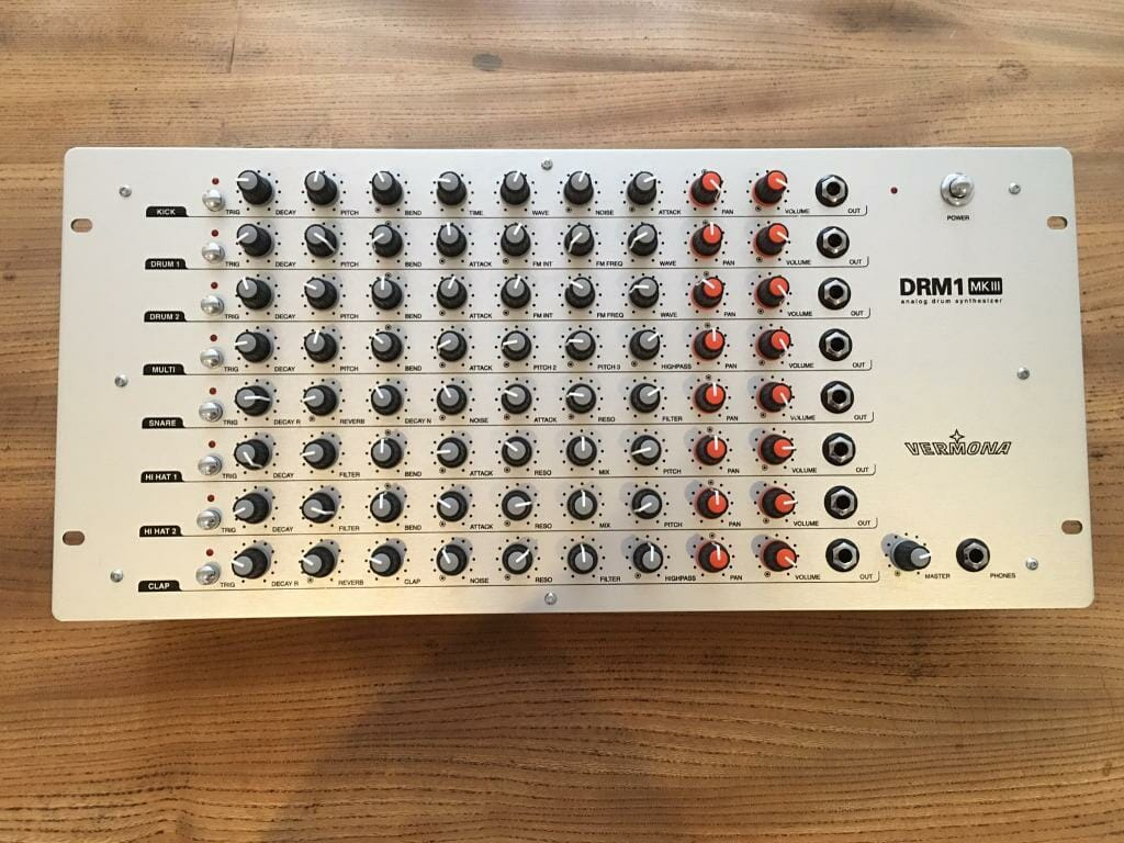 Beste Drum Synthesizer Vermona DRM1 MKIII