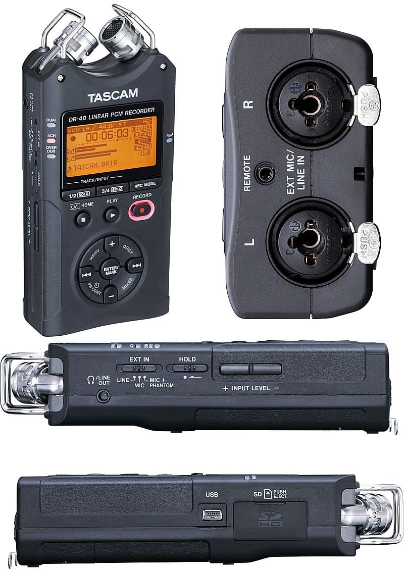 Beste Tascam DR-40 Review