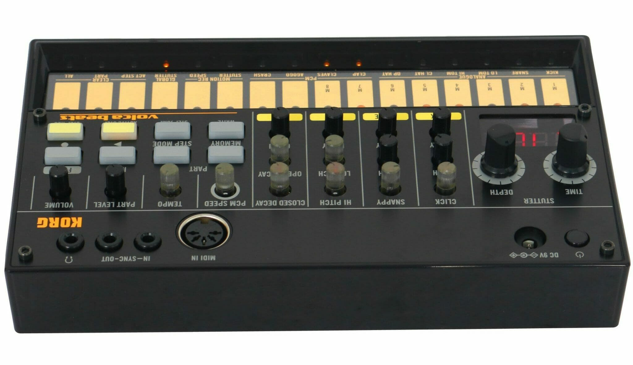 drumcomputer kopen korg volca beats review