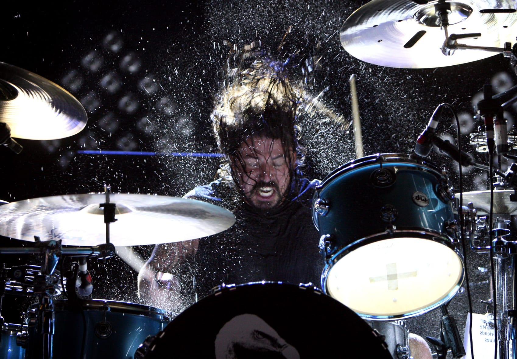 Drummen zonder drumstel