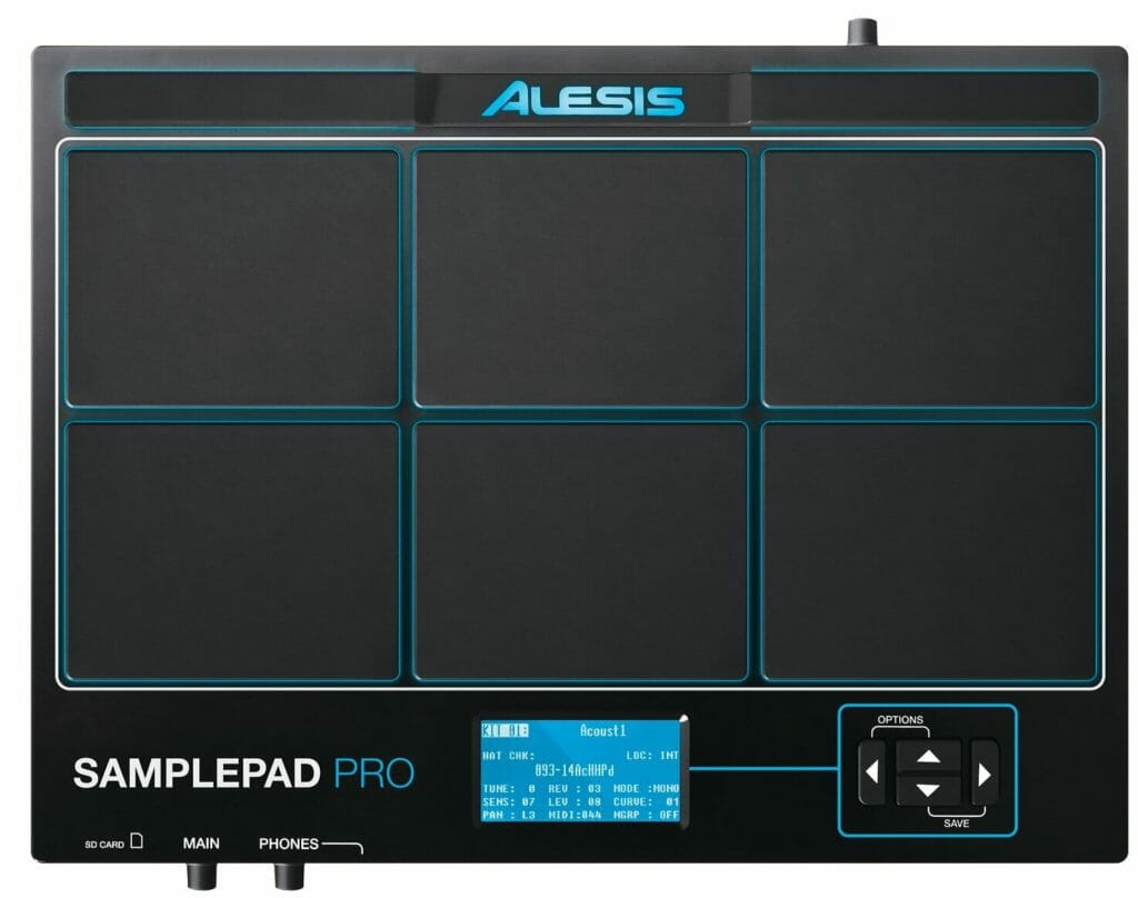 percussie alesis samplepad pro review