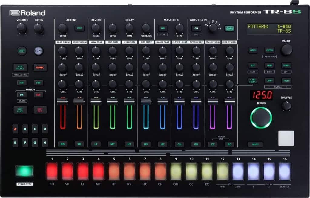 Roland TR-8 Review TR-8S
