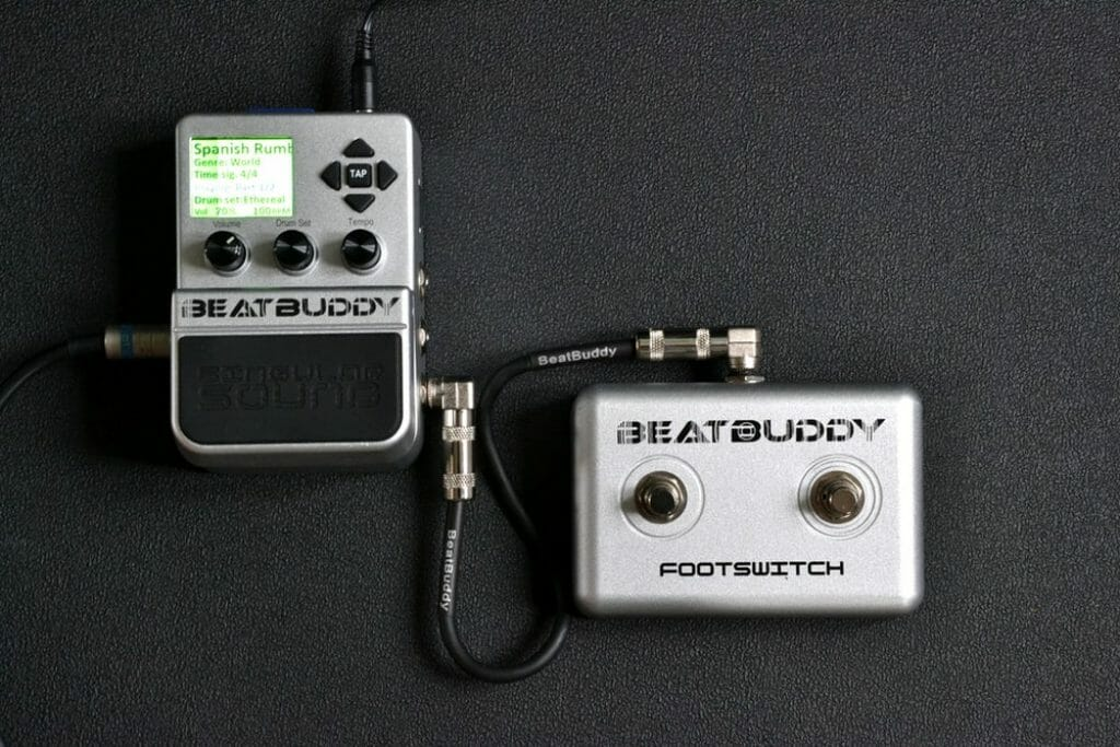 Singular Sound BeatBuddy Review footswitch